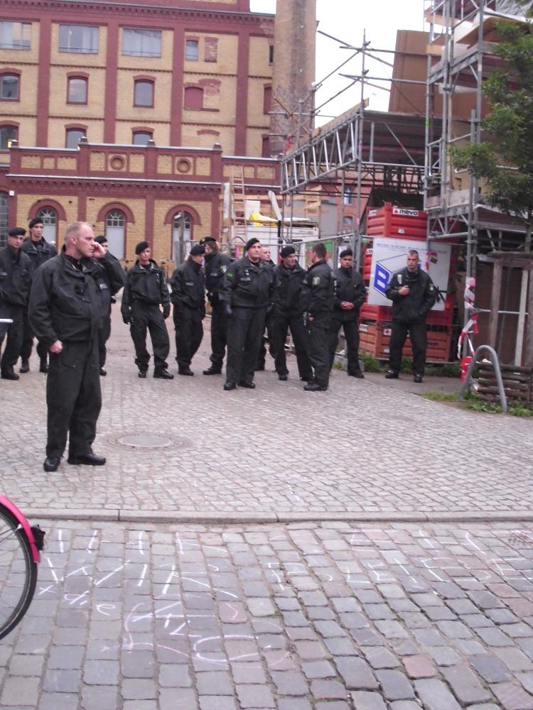 Polizei am 21.6.12